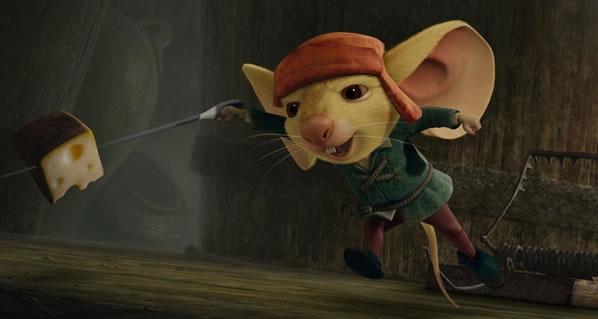 o corajoso ratinho dublado